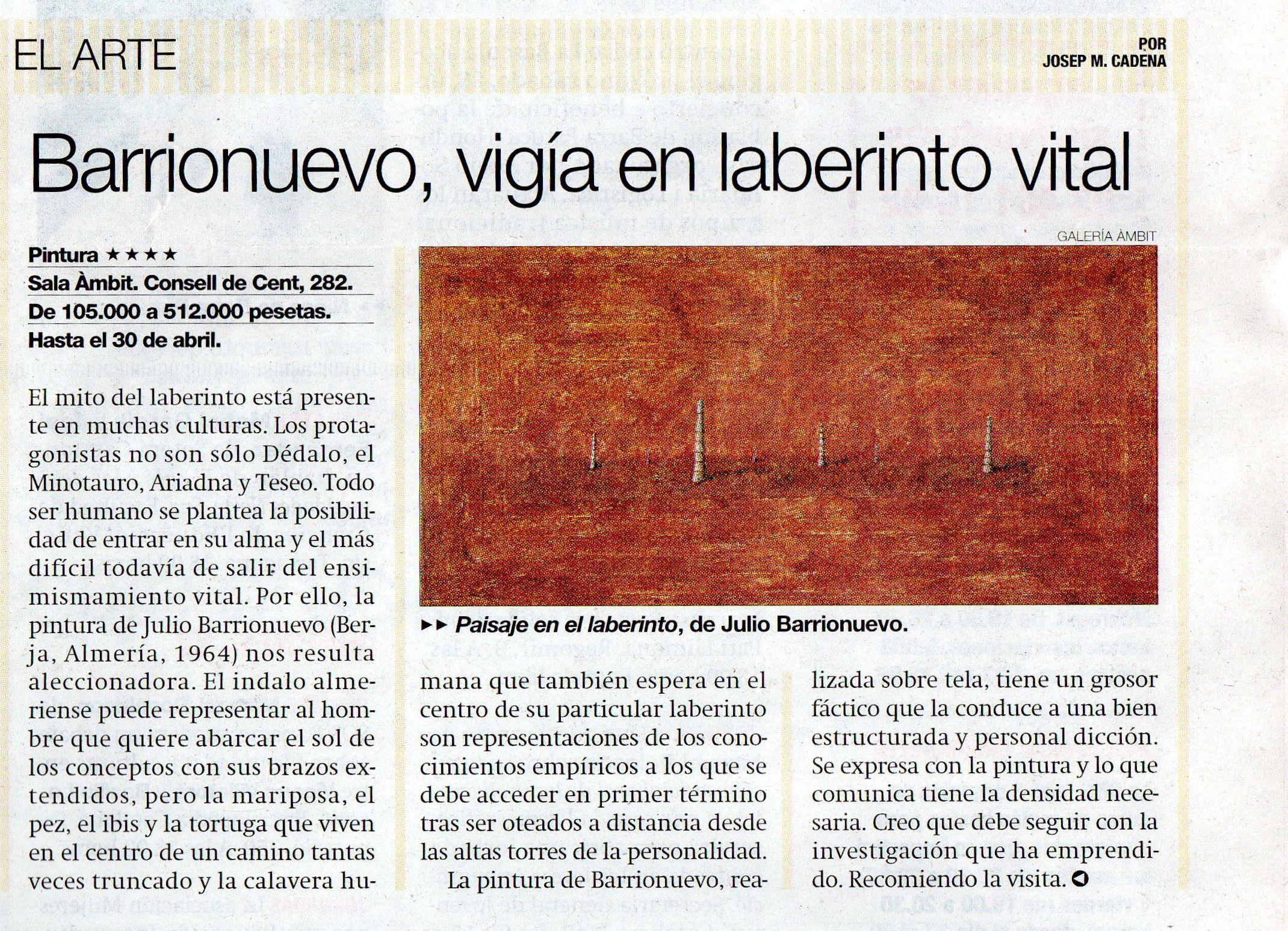 Nº14.Josep Mª Cadena.EL PERIODICO
